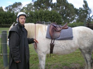 English visitor to Australia